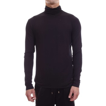 Abbigliamento Uomo T-shirts a maniche lunghe Gaudi 62FU61153 2001-UNICA - T shirt  Nero