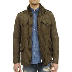 Abbigliamento Uomo Giacche Rrd 17230 21-UNICA - Metal field  Verde