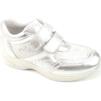 Scarpe Bambina Sneakers basse Nero Giardini P234612-F700 - INTERACTIVE STR  Argento