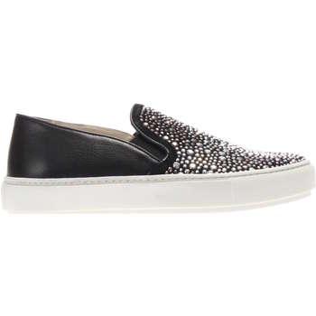 Scarpe Donna Slip on Janet Sport 37728 NERO-UNICA - Sneaker sli  Nero