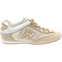 Scarpe Bambina Sneakers basse Hogan HXC05201682.3WV997M-3WV997M -  Beige