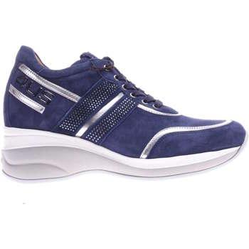 Scarpe Donna Sneakers basse 4Us Paciotti NNED3WCA 4-UNICA - Allacciato  Blu