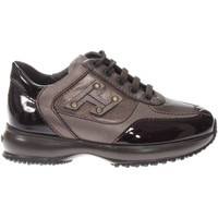 Scarpe Bambina Sneakers basse Hogan C00N04160.T314737-T314737 - IN  Marrone