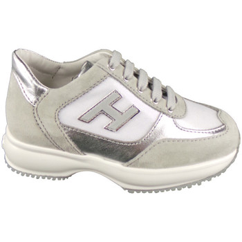 Scarpe Bambina Sneakers basse Hogan HXC00N03242-83A1A59-83A1A59 -  Argento