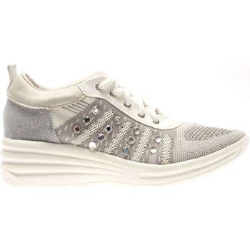 Scarpe Donna Sneakers basse Pregunta PCAGENNY 002-UNICA - Allacciat  Bianco