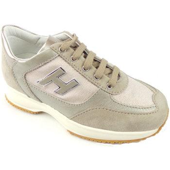 Scarpe Bambina Sneakers basse Hogan HXC00N03242-4K7013J-4K7013J -  Beige