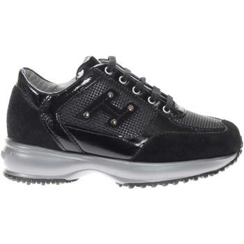 Scarpe Bambina Sneakers basse Hogan HXC00N04160-Q3AB999 -  Nero