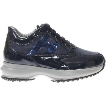 Scarpe Bambina Sneakers basse Hogan HXC00N04180-J2K4460-J2K4460 -  Blu