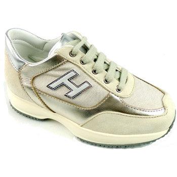 Scarpe Bambina Sneakers basse Hogan HXC00N03242-83A1A58-83A1A58 -  Oro