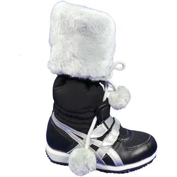 Scarpe Bambina Stivali da neve Asics COA1NBLACK-BLACK - SNOOW HEAV  Nero