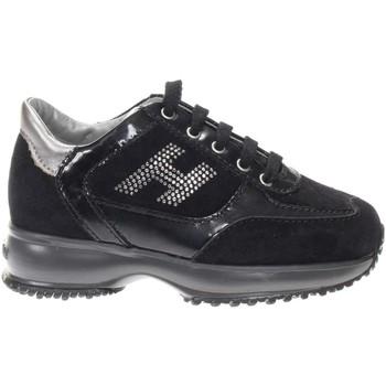 Scarpe Bambina Sneakers basse Hogan HXC00N08551-3572885-3572885 -  Nero