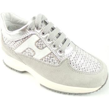 Scarpe Bambina Sneakers basse Hogan HXC00N0C640-3XW4782 - INTERACT  Bianco