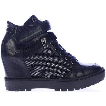 Scarpe Donna Sneakers alte Janet Sport 34877-NERO - POLACCO BRIXTON  Nero
