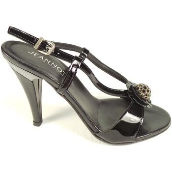 Scarpe Donna Sandali Jeannot 40778-NERO - Sandalo t.80  Nero