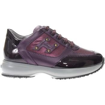 Scarpe Bambina Sneakers basse Hogan HXC00N04160-T31L806 -  Viola