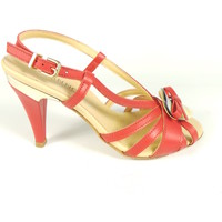 Scarpe Donna Sandali Jeannot 40767-ROSSO - Sandalo t.80  Rosso