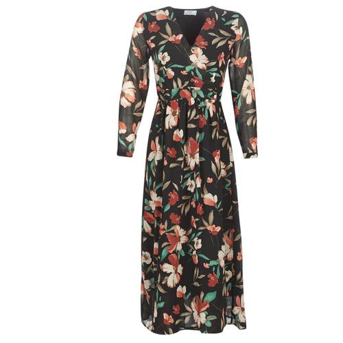 Abbigliamento Donna Abiti lunghi Betty London NOISETTE Nero / Multicolore
