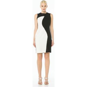 Abbigliamento Donna Abiti corti Cannella ATRMPN-10757 Bianco
