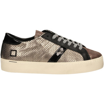 Scarpe Donna Sneakers basse Date HILL DOUBLE ROOF LAMINATED piombo