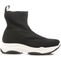Scarpe Bambina Sneakers alte Chiara Luciani Chiara Luciani Stivaletto-Sneakers Bambina Z149 nero
