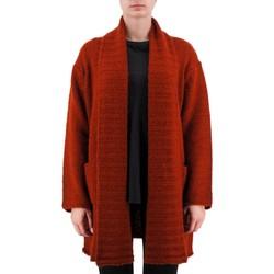 Abbigliamento Donna Gilet / Cardigan Anonyme Demetra Maglione In Lana Pesante Marrone  ANYP Marrone