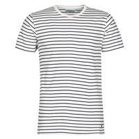 Abbigliamento Uomo T-shirt maniche corte Yurban KINO Marine / Bianco