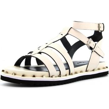 Scarpe Donna Sandali Cris Vergre' scarpe donna sandali EJ2904N BIANCO Pelle