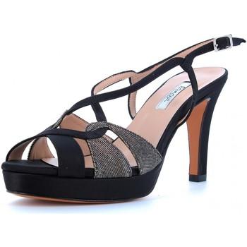 Scarpe Donna Sandali L'amour scarpe donna sandalo 913 NERO Cuoio