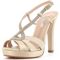 Scarpe Donna Sandali L'amour scarpe donna sandalo 919 BEIGE Cuoio