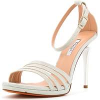 Scarpe Donna Sandali L'amour scarpe donna sandalo 927 ARGENTO Cuoio