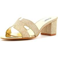 Scarpe Donna Sandali L'amour scarpe donna sandalo 980 PLATINO Cuoio