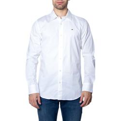 Abbigliamento Uomo Camicie maniche lunghe Tommy Hilfiger DM0DM04405 Bianco