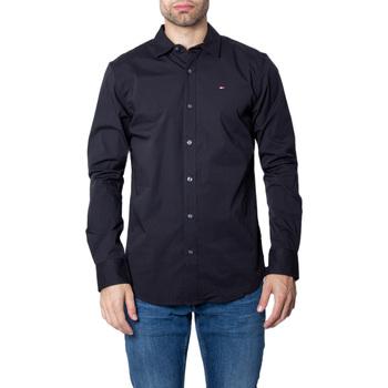 Abbigliamento Uomo Camicie maniche lunghe Tommy Hilfiger DM0DM04405 Nero