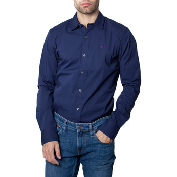 Abbigliamento Uomo Camicie maniche lunghe Tommy Hilfiger DM0DM04405 Blu