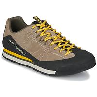 Scarpe Uomo Sneakers basse Merrell CATALYST SUEDE Beige / Nero