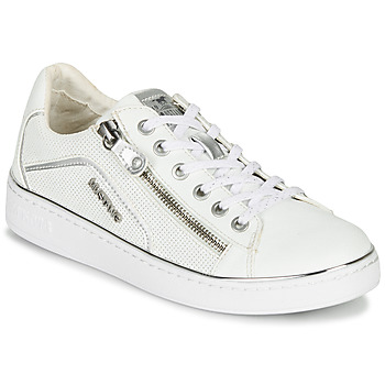 Scarpe Donna Sneakers basse Mustang 1300-303-121 Bianco / Argento