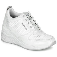 Scarpe Donna Sneakers basse Mustang 1319303-121 Argento / Bianco