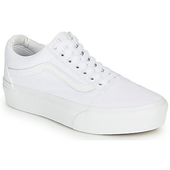 Scarpe Donna Sneakers basse Vans UA Old Skool Platform Bianco