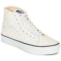 Scarpe Donna Sneakers alte Vans SK8-HI TAPERED Rosa / Bianco