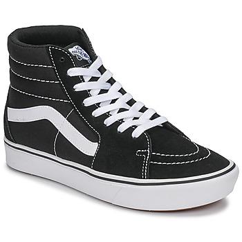 Scarpe Sneakers alte Vans UA ComfyCush SK8-Hi Nero / Bianco