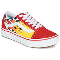 Scarpe Bambino Sneakers basse Vans COMFYCUSH OLD SKOOL Rosso / Giallo