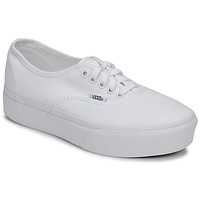 Scarpe Donna Sneakers basse Vans AUTHENTIC PLATFORM 2.0 Bianco