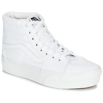Scarpe Donna Sneakers alte Vans SK8-HI PLATFORM 2.0 Bianco
