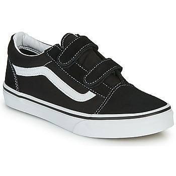 Scarpe Unisex bambino Sneakers basse Vans JN Old Skool V Nero / Bianco