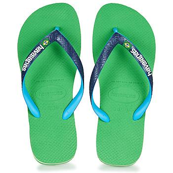 Scarpe Infradito Havaianas BRASIL MIX Verde / Blu