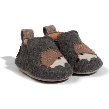 Scarpe Unisex bambino Pantofole Haflinger 65308004 Grigio