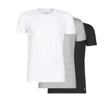 Abbigliamento Uomo T-shirt maniche corte Polo Ralph Lauren WHITE/BLACK/ANDOVER HTHR pack de