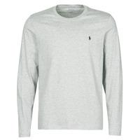 Abbigliamento Uomo T-shirt maniche corte Polo Ralph Lauren L/S CREW-CREW-SLEEP TOP Grigio