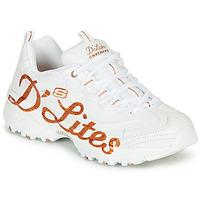 Scarpe Donna Sneakers basse Skechers D'LITES White