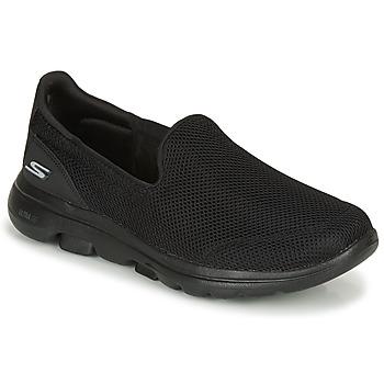Scarpe Donna Slip on Skechers GO WALK 5 Black
